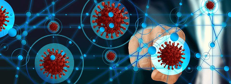 Illustration Covid virus