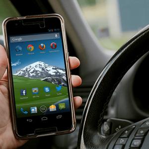 Téléphone au volant et retrait de permis
