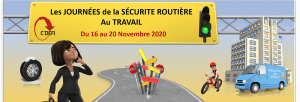 Semaine de la sécurité routière au travail