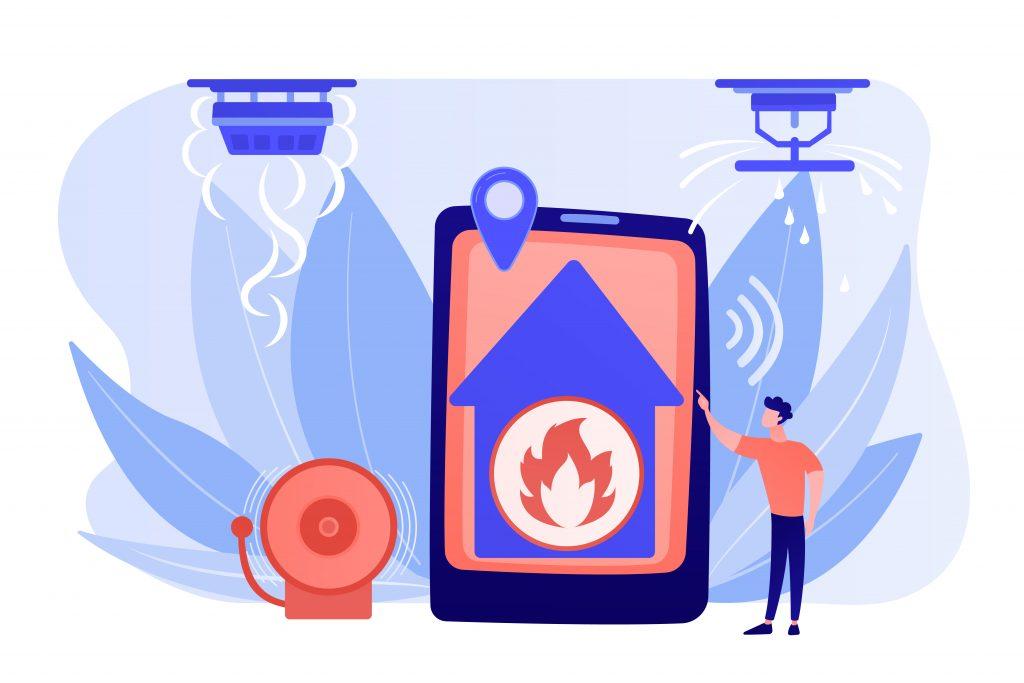 La prévention incendie pour se former pour la lutte contre l'incendie et l'aide à l'évacuation